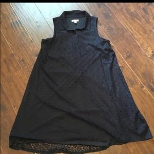 Dana Buchman Black Lace sleeveless Dress size 12